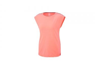 T-Shirt Manches Courtes Femme Millet Cloud Peak Wool Peach