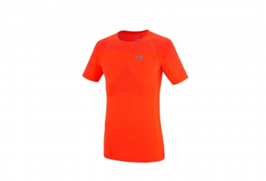 Millet Ltk nahtlose Ärmel T-Shirt mit kurzen Ärmeln Orange