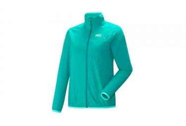 Millet Women Ltk Airy Jacket Dynasty Green Pool Blue