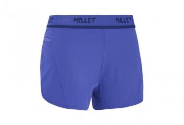 Short millet femme ltk intense purple bleu s