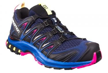 Chaussures de trail femme salomon xa pro 3d bleu violet 38
