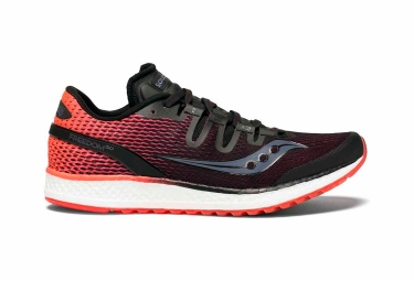Saucony freedom iso femme rouge noir 37 1 2