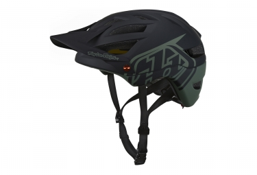 Casque troy lee designs a1 classic mips kaki noir 2018 s 54 56 cm