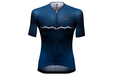 campagnolo maillot manches courtes quarzo blue s