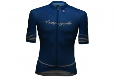 campagnolo maillot manches courtes platino blue s