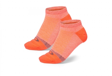 x2 paires de chaussettes oakley lightweight high performance corail 40 44