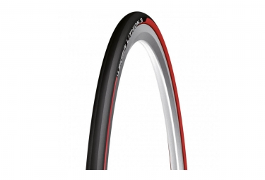 pneu michelin lithion 3 noir rouge 23 mm