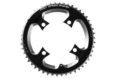 External Chainring FSA SL-K ABS 4H Black 110BCD 10/11s