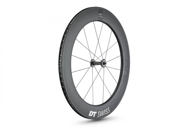 Roue avant dt swiss 2018 arc 1100 dicut 80 9x100 pneu