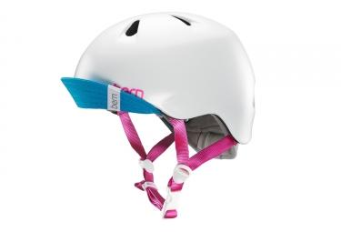 Bern Niña Girl Helmet White