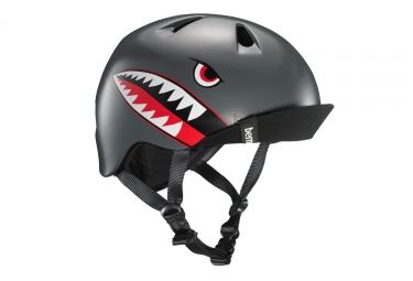 Casco Bern Ni o Boy Matte Black