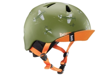 Bern Ni o Dogfight Boy Casco Verde