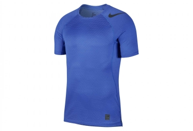 Nike Pro HyperCool Short Sleeves Jersey Blue Camo