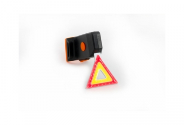 Eclairage arriere msc triangle light usb