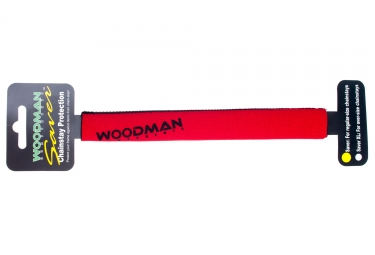 Woodman Chainstay Protector Saver Xl Red