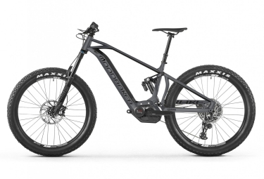 MTB Eléctrica Doble Suspensión Mondraker E-Crafty R+ 27.5'' Plus Gris 2018