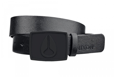 Nixon Icon II All Black Belt