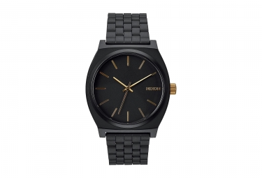 Montre Nixon Time Teller Noir Or