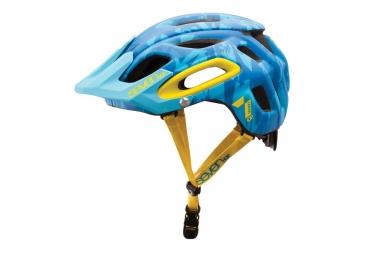 Casque seven m2 vert bleu camo jaune xl xxl 60 63 cm