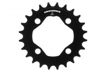 Plateau raceface narrow wide 64mm noir 24