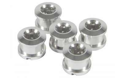 Pack de 5 vis cheminees forward alu 6 5mm argent