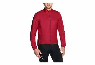 Veste coupe vent vaude air jacket iii rouge l