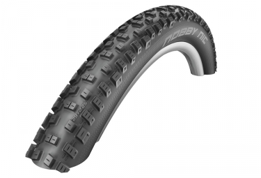 Pneu schwalbe nobby nic 27 5 tubleless ready souple twinskin addix performance 2 25