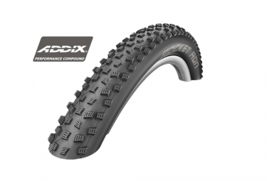 pneu schwalbe rocket ron 27 5 performance tubeless ready twinskin souple addix 2 25