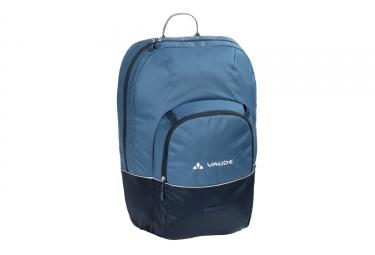 sacoche de porte bagage vaude cycle 22 bleu