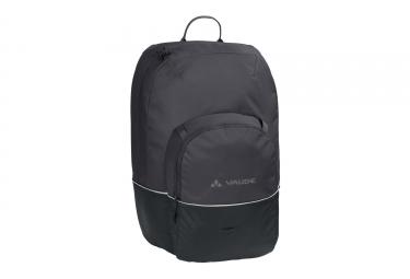 sacoche de porte bagage vaude cycle 28 noir