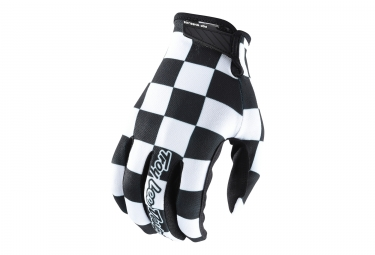 Troy Lee Designs Air Checker Long Gloves Black White