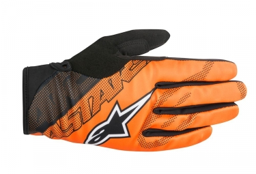Gants Alpinestars Stratus Orange Noir