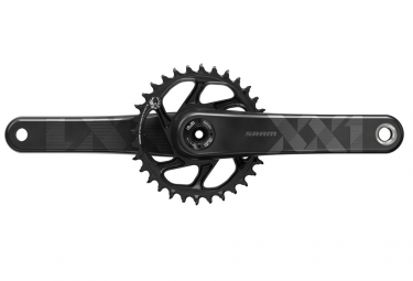 Sram XX1 Eagle DUB Direct Mount Kurbelgarnitur 34t (ohne BB) - Schwarz