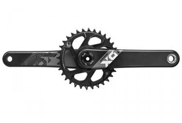 Sram X01 Eagle DUB Boost Direct Mount Crankset 32t (BB Not Included) - Black