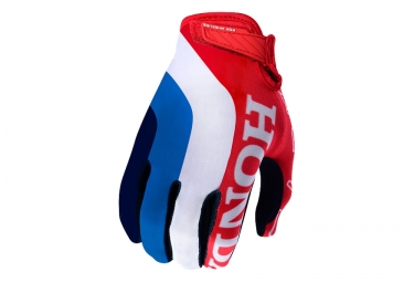 Troy Lee Designs Air Team Honda Gloves - Blanc / Rouge