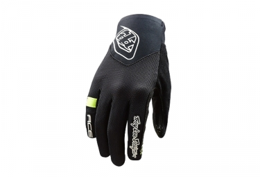 Gants longs femme troy lee designs ace 2 0 noir l