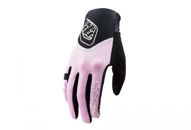 Gants longs femme troy lee designs ace 2 0 rose l