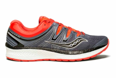 Saucony hurricane iso 4 gris rouge 39