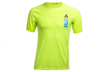 Odlo Ceramicool Motion Short Sleeves Jersey Green