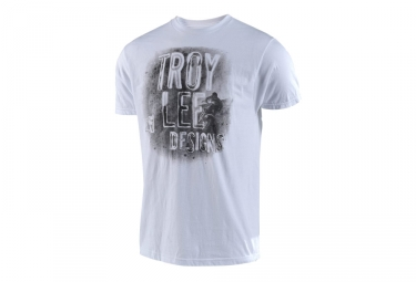T shirt troy lee designs thicker than dirt blanc l