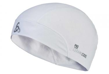 Bonnet Odlo Ceramicool UVP Blanc