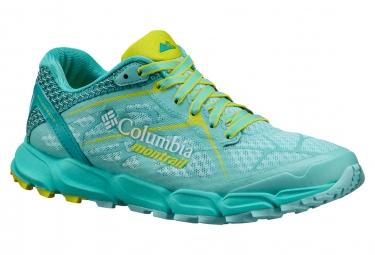 Chaussures de Running Femme Columbia Caldorado Bleu / Jaune