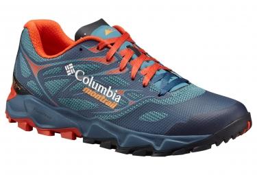 Zapatillas Columbia Trans Alps Fkt para Hombre Azul / Naranja