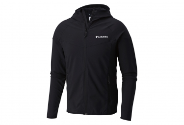 Softshell columbia capuche heather canyon noir s l