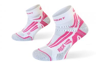 paire de chaussettes bv sport rsx evo rose 39 41