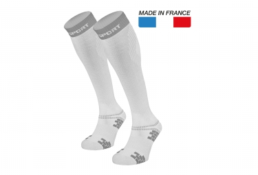 XLR Evo Socks White Grey