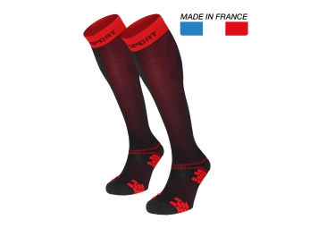 XLR Evo Socks Black Red
