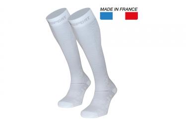 BV Sport Recovery Evo Socks White