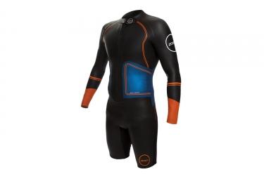 Zone3 SwimRun Evolution Wetsuit Black Blue Orange