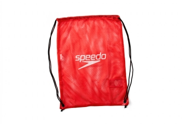 sac de piscine speedo mesh bag 35l rouge